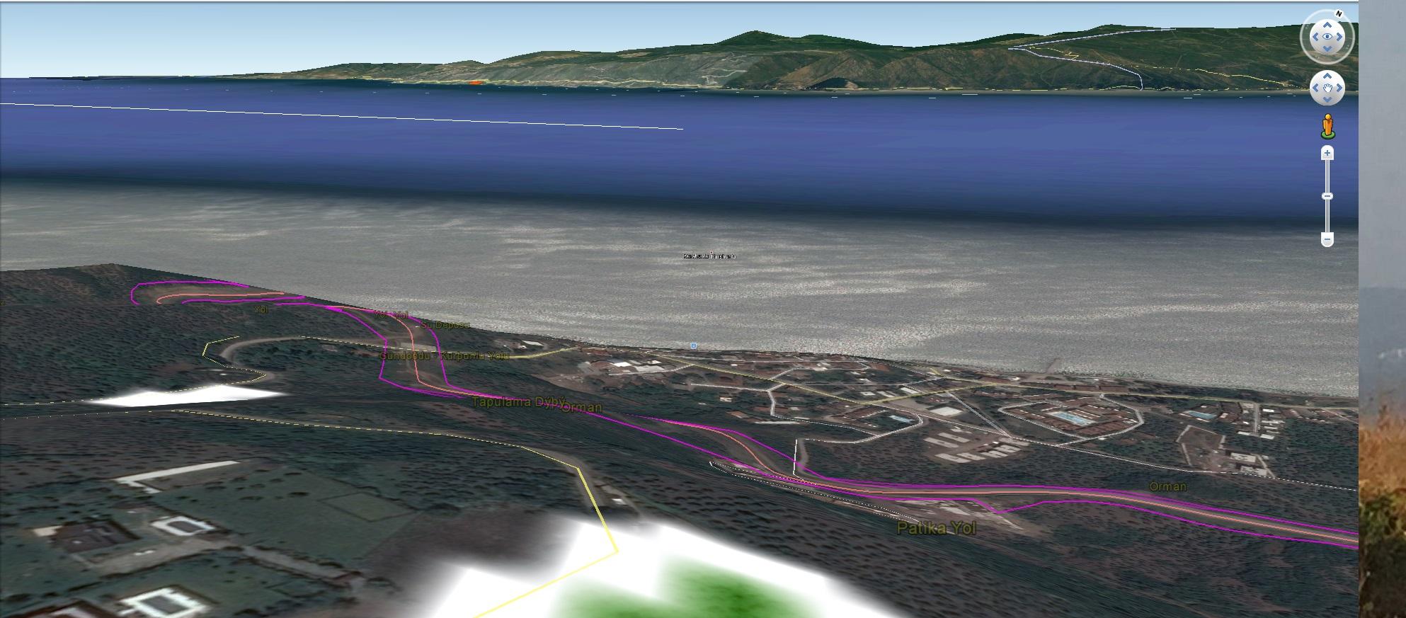 Kurşunlu'da Full deniz Manzaralı Asfalta Cephe Satılık 16.500 m2